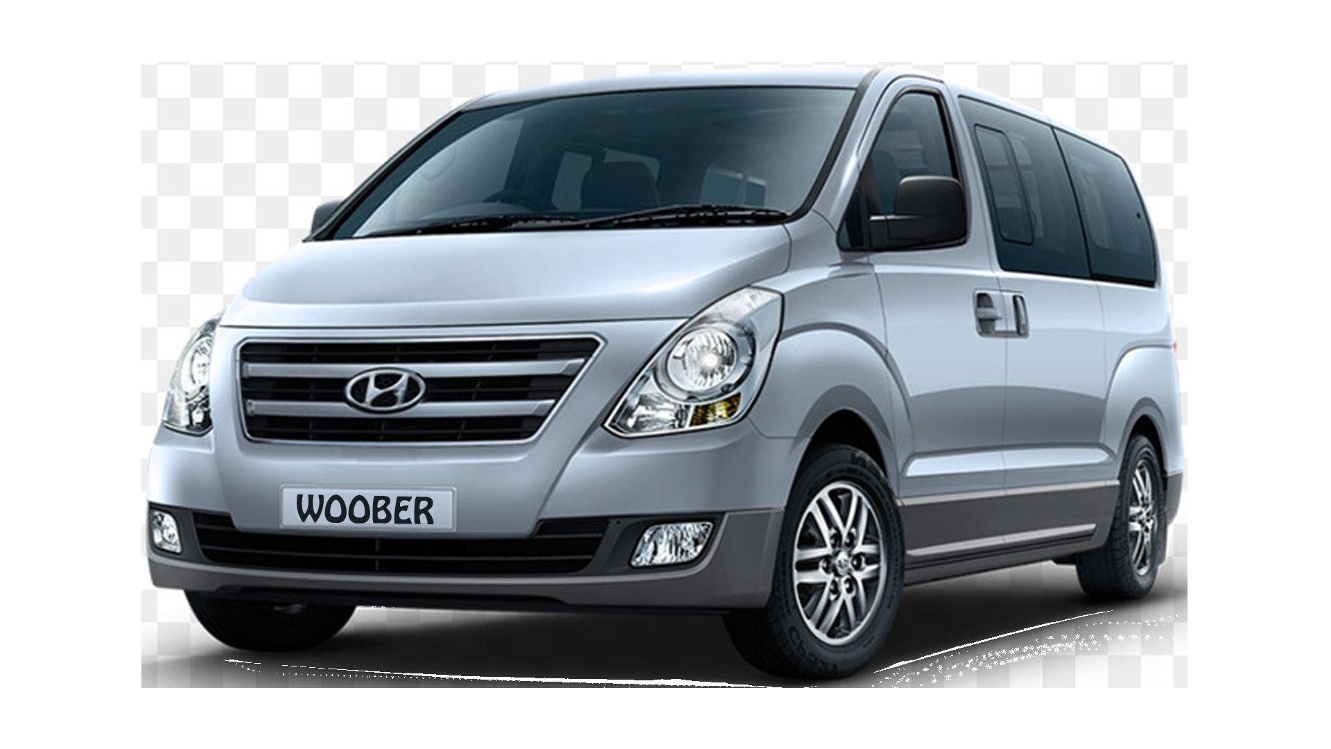 woober hyundai bus